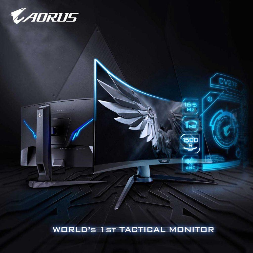 Moniteur gaming Gigabyte Aorus CV27F
