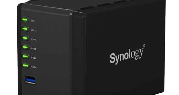 NAS DiskStation DS419slim de Synology