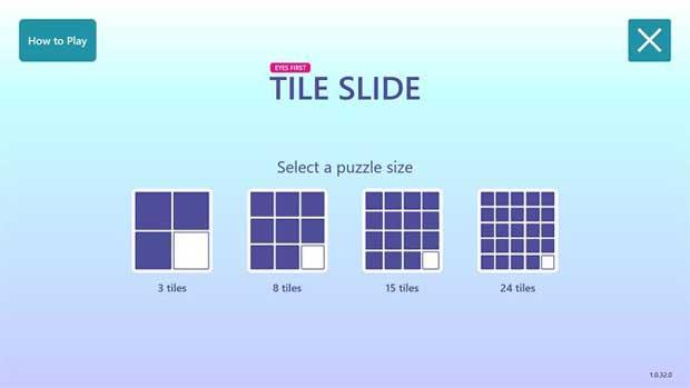 Eyes First - Slide Tile