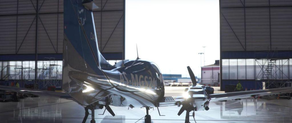 Flight Simulator de Microsoft