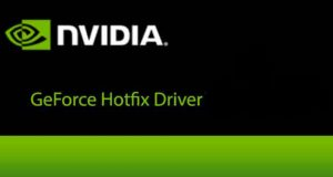 GeForce Hotfix Driver de Nvidia