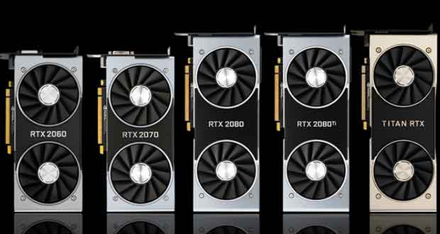 GeForce RTX 20 series de Nvidia