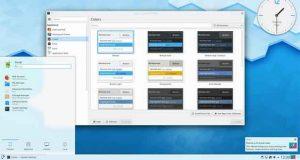 Environnement de bureau KDE Plasma 5.16