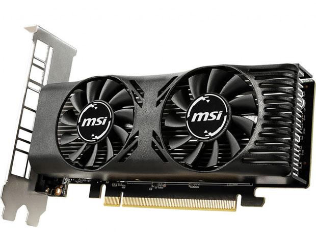 GeForce GTX 1650 Low Profile de MSI