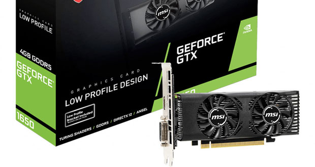 GeForce GTX 1650 Low Profile de MSI