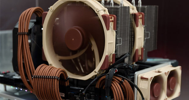 Next-generation 140mm D-type coolers de Noctua