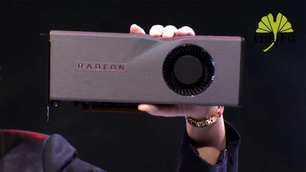 Radeon RX 5700 XT d'AMD