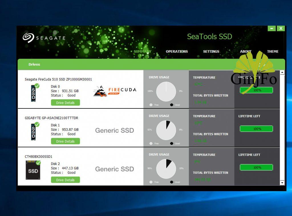 application SeaTools