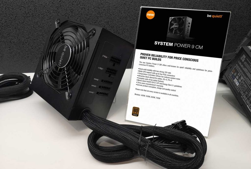 Alimentation Be Quiet System Power 9 CM