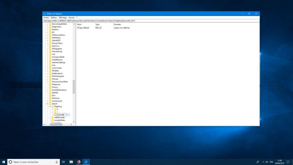 Windows 10 et les coins arrondis