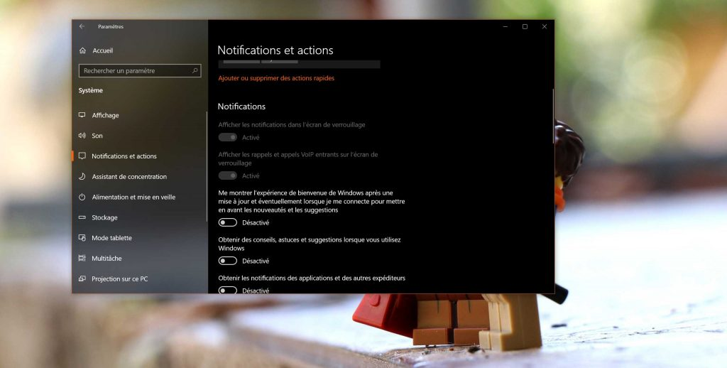 Windows 10 et « Windows Welcome Experience »