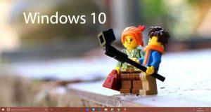 Windows 10 - Centrage des icônes dans la barre des tâches.