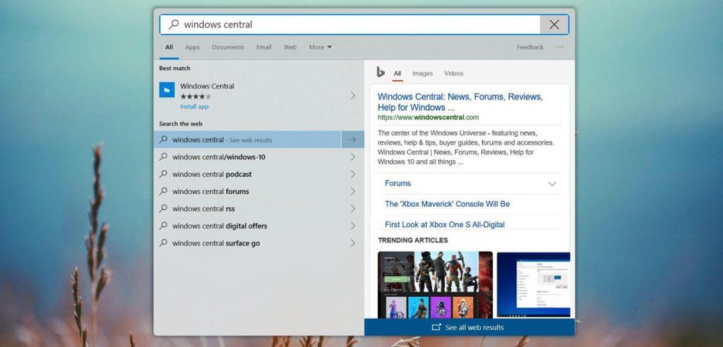 Windows10 avec des fenêtres aux coins arrondis