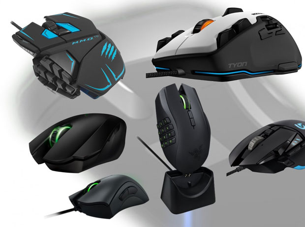 Comparatif de souris gaming