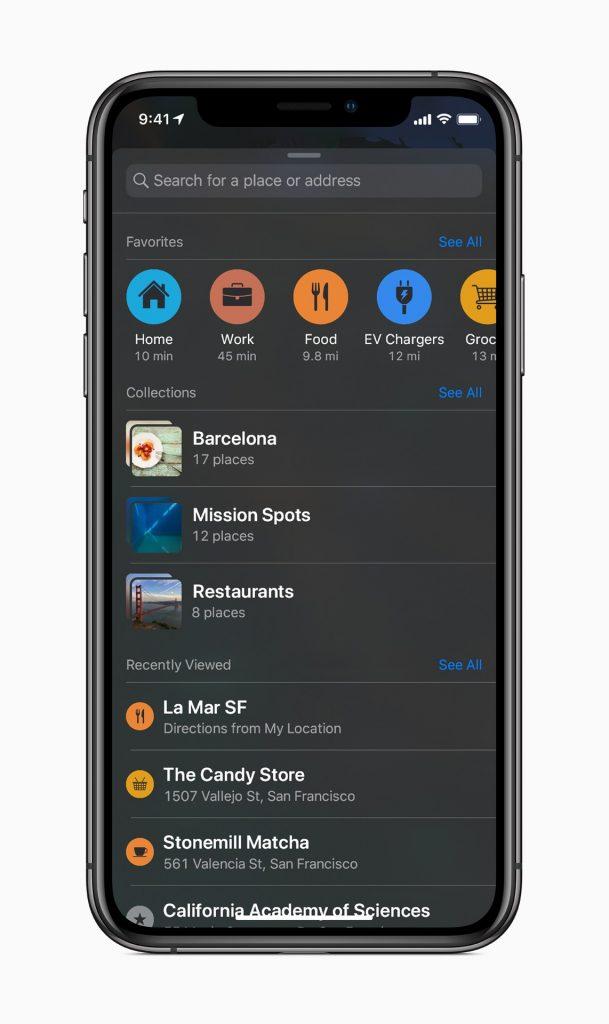 iOS 13 pour l'iPhone