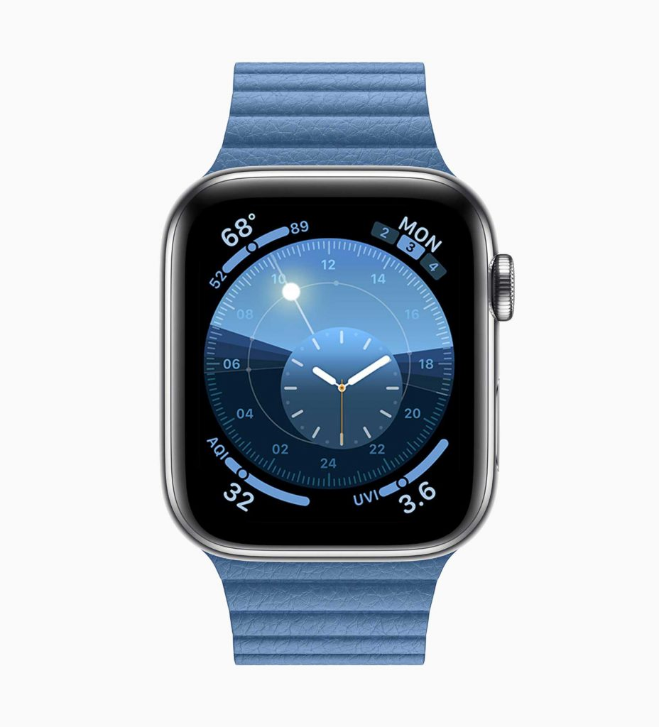 Apple Watch sous watchOS 6