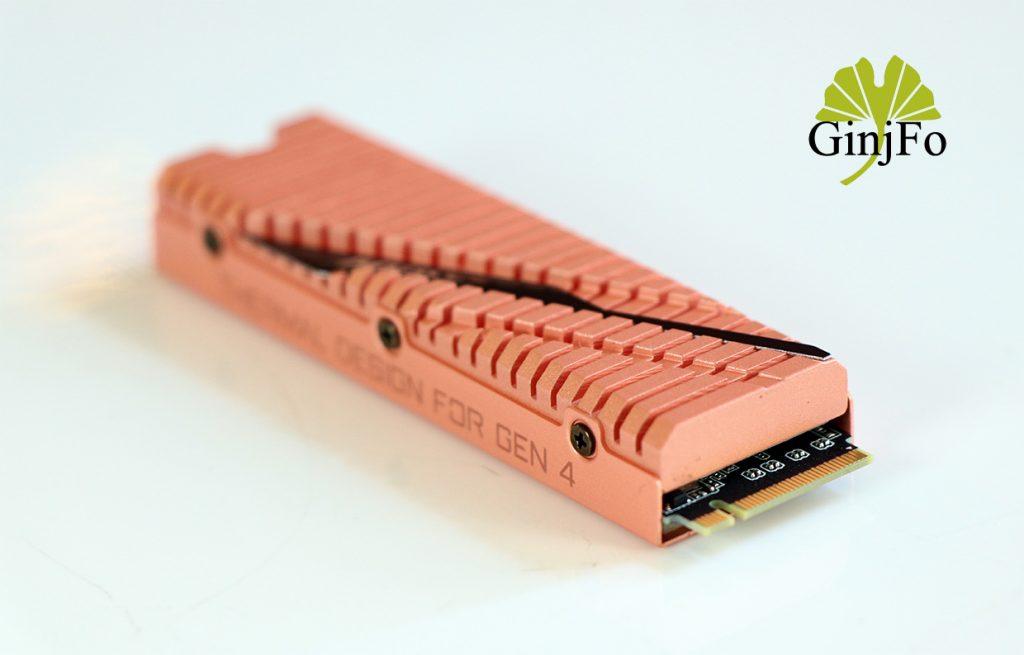 Aorus NVMe Gen4 SDD (2 To) de Gigabyte