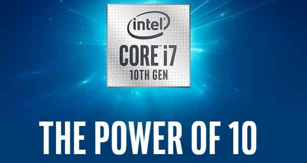 Processeur Intel Core de 10ème génération
