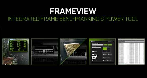Utilitaire FrameView de Nvidia