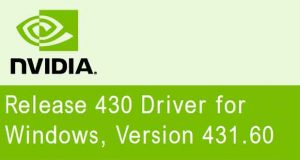 Drivers GeForce 431.60 WHQL de Nvidia
