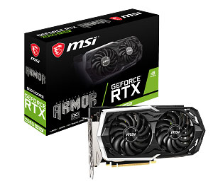 GeForce RTX 2060 SUPER ARMOR de MSI