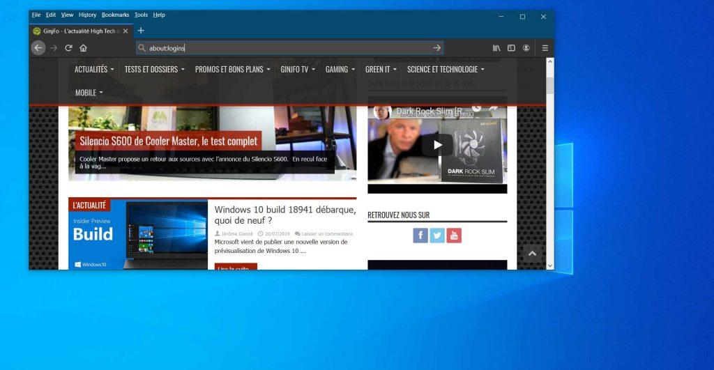 Firefox Lockwize, le nouveau gestionnaire de mots de passe de Firefox