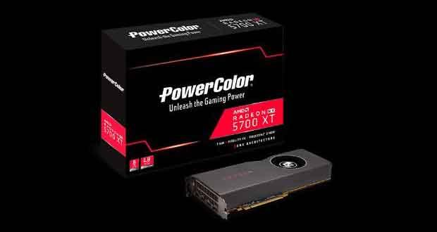 La PowerColor Tadeon RX 5700 XT