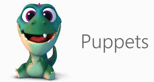 Puppets de Microsoft