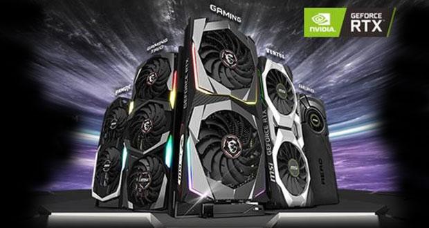 MSI annonce ses GeForce RTX Super Gaming, Armor, Ventus et Aero ITX