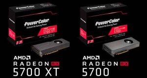 Radeon RX 5700 XT et RX 5700 de PowerColor