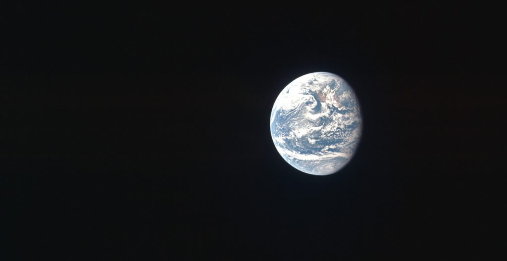 Apollo 11 - Cliché de la planète Terre
