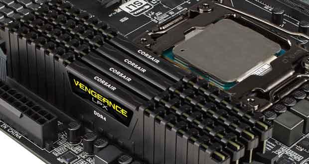 Mémoire vive DDR4 Vengeance LPX de Corsair