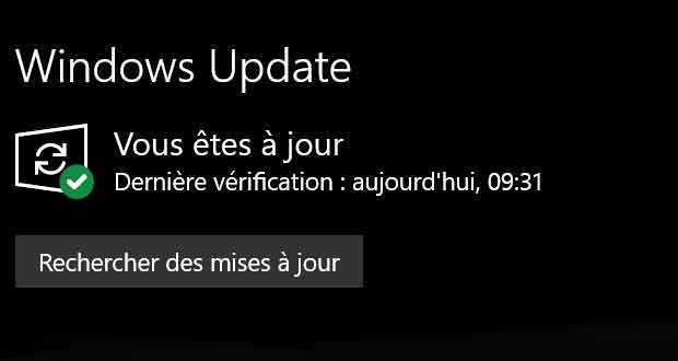 Windows 10 et le service Windows Update