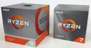 Processeurs AMD Ryzen 9 3900X et Ryzen 7 3700X