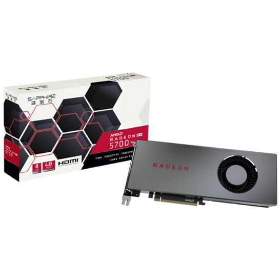 Radeon RX 5700 XT et Radeon RX 5700 d'AMD