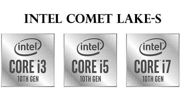 Processeurs Core Comet Lake-S d'Intel