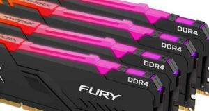 Mémoire Fury DDR4 RGB
