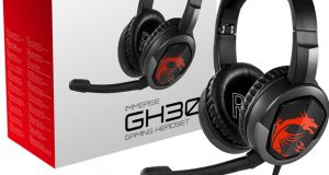 Micro-casque gaming Immerse GH30 de MSI