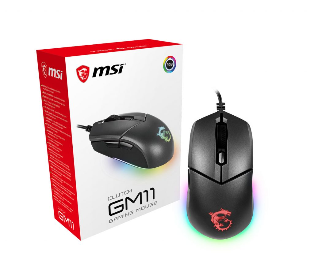 Souris CLUTCH GM11 de MSI