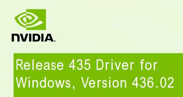 GeForce 436.02 WHQL de Nvidia