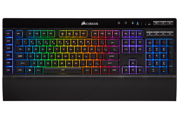 Clavier gaming sans fil K57 RGB Wireless de Corsair