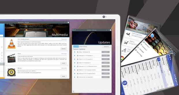 Environnement de bureau KDE