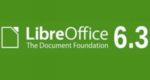 Suite bureautique LibreOffice 6.3