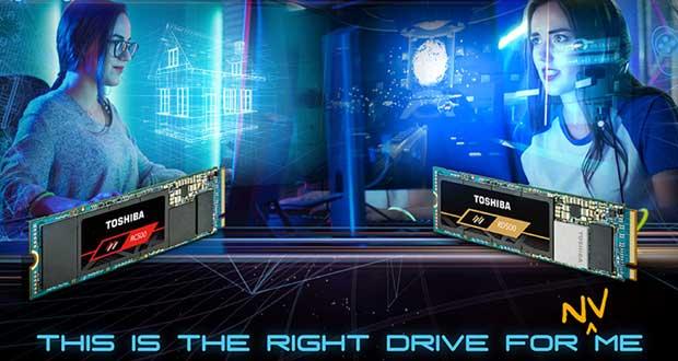 SSD RD500 et RC500 series de Toshiba