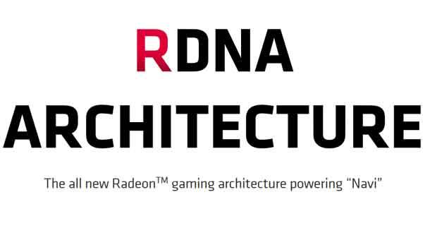 L'architecture GPU RDNA d'AMD