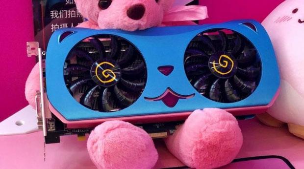 "Radeon RX 580 ""CUTE PET"""