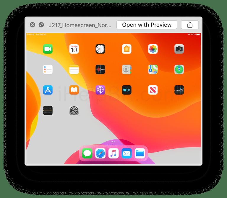 Images issues de la septième version bêta d'iOS 13 et iPadOS 13