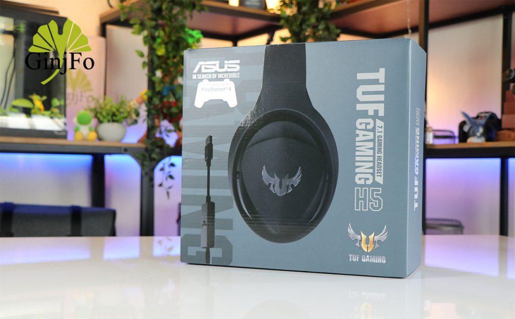 Micro-casque TUF Gaming H5 d'Asus