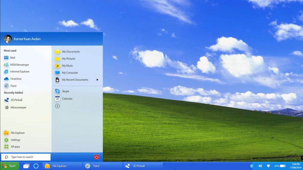 Windows XP 2019 Edition (Concept)