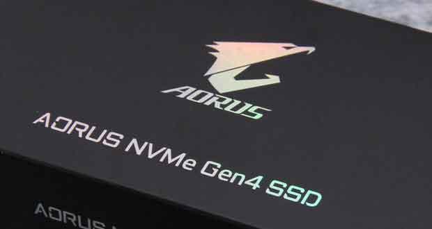SSD AORUS NVME Gen4 2 To